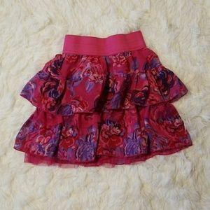 The Place Floral Skirt Size 7/8 Girls